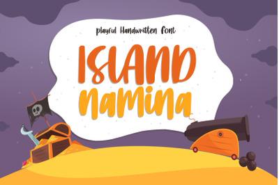 Island Namina Font