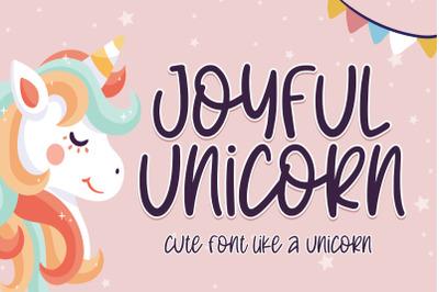 Joyful Unicorn