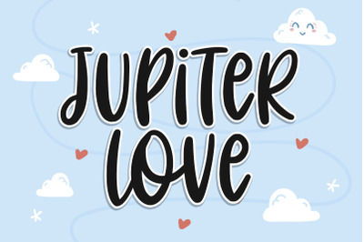Jupiter Love - Cute Font