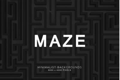 Maze 3D Backgrounds