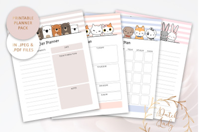 Printable Planner Bundle #4