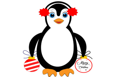 Cute penguin svg, penguin svg, penguin clipart, christmas svg, penguin