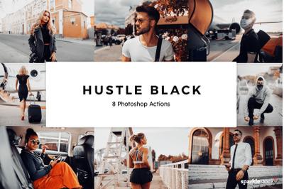 20 Hustle Black Photoshop Actions