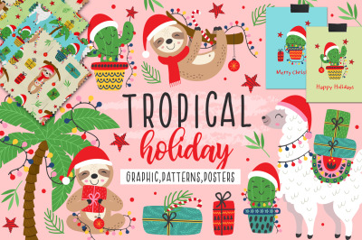 Tropical holiday collection
