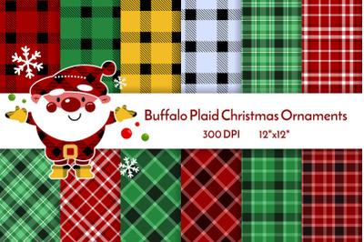 Buffalo plaid christmas ornaments JPEG 23