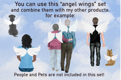 Angel Wings Clipart Halo clipart Haven Background Religious