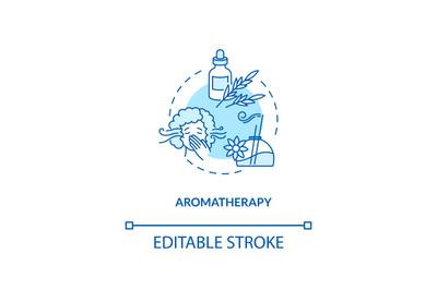 Aromatherapy concept icon