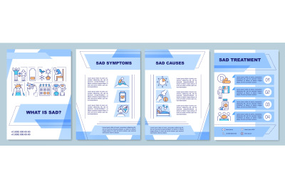 What is sad brochure template
