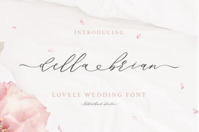 Della Brian - Lovely Wedding Font