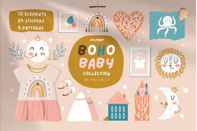Boho baby collection