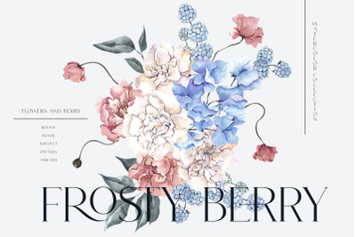 Frosty Berry. Winter collection