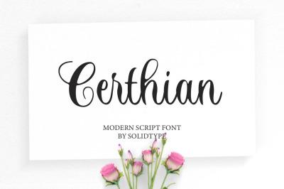 Certhian Script