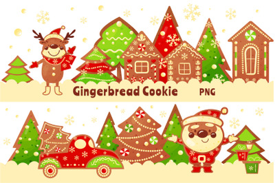 Gingerbread Cookie Clipart PNG 25