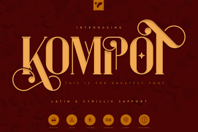 Kompot - This is the Greatest Font