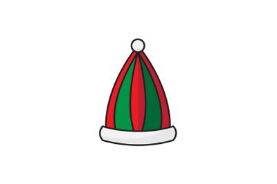 Elf Hat  Christmas Icon