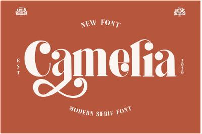 Camelia a New Serif Font