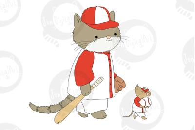 Cat & Mouse Baseball