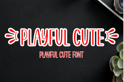 Playful Cute - Modern Display Font