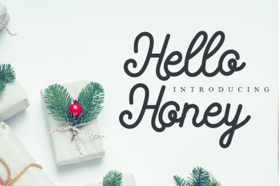 Hello Honey - Cute Script Font