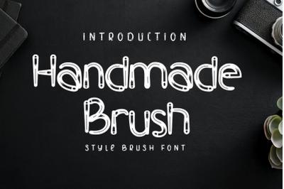 Handmade Brush - Modern Brush Font