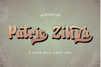 Patric Zihva - Retro Bold Script Font