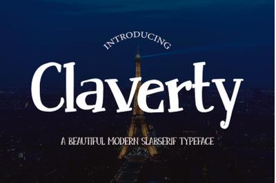 Claverty Modern Slabserif