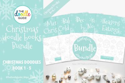 Christmas Doodle Book BUNDLE