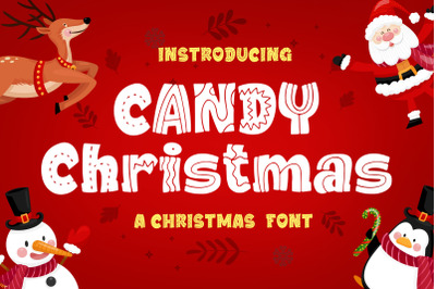 Candy Christmas Font