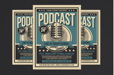 Podcast Live Flyer