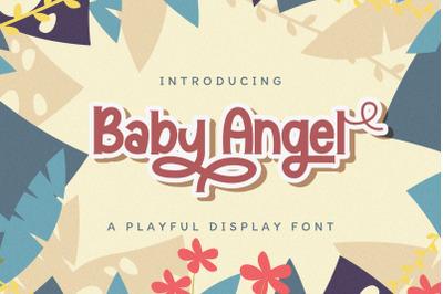 Baby Angel - Playful Display Font