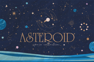 Asteroid / space collection