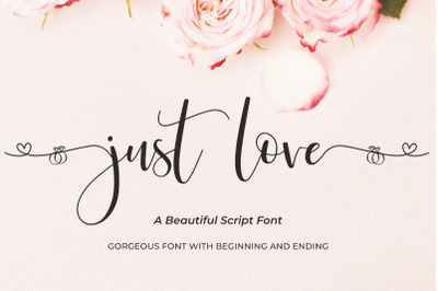Just Love | Beautiful Script