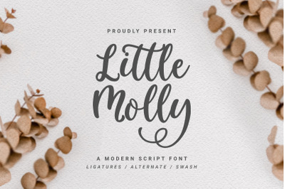 Little Molly | Modern Script