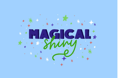 Magical Shiny | Handwritten Font