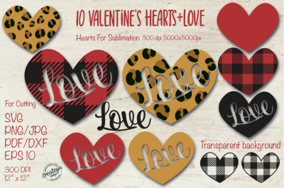 Valentine SVG, Heart SVG, Leopard heart, Buffalo Heart SVG