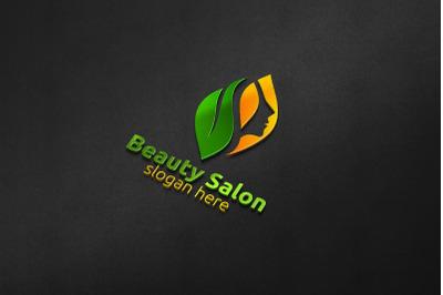 Natural Beauty Salon Logo 51