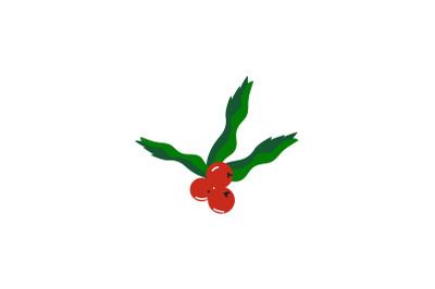 Cherry Ornament Christmas Icon