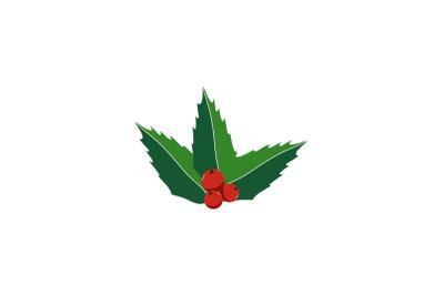 Cherry Decoration Christmas Icon