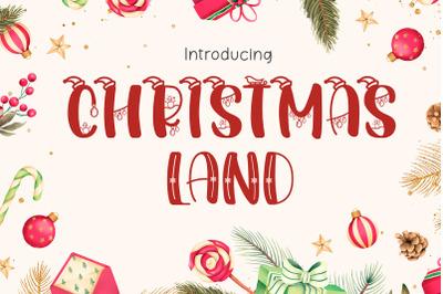 Christmastland Font