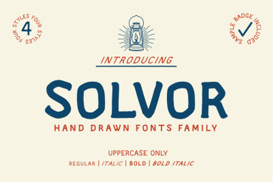 SOLVOR - Extra Badge Template