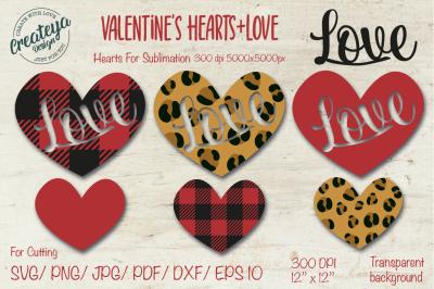 Valentine SVG, Heart SVG, Leopard heart, Valentine's SVG