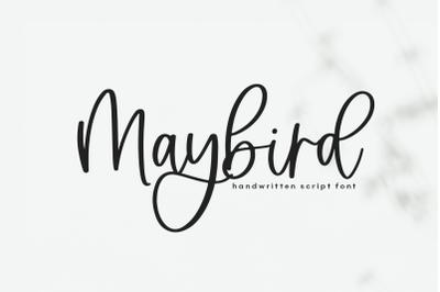Maybird - Handwritten Script Font