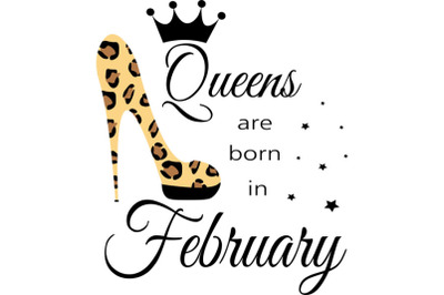 February birthday Queen  svg, Living My Best Life, February  Queen, Fe