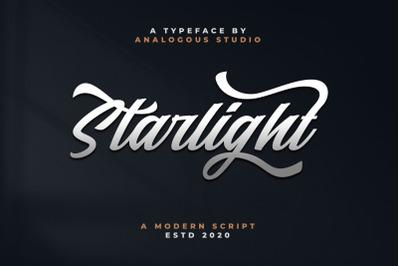 Starlight || Modern Script