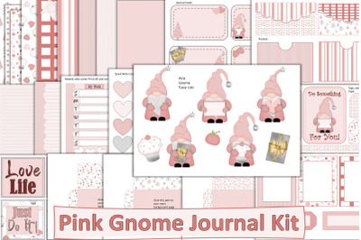 Pink Gnomes Journal Kit