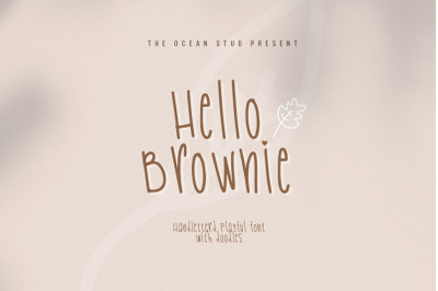 Hello Brownie | With Doodles