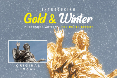 Gold And Snow Action WinterSeries