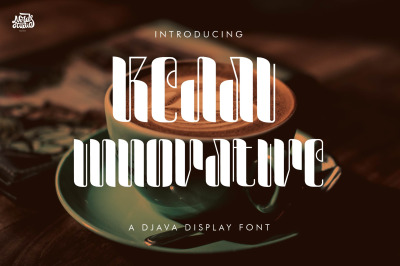 Kedai Innovative a Djava Display Font