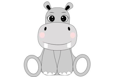 Hippo svg , Cute Hippo svg, Hippo clipart, Hippo svg design, animal sv