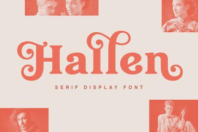 Hallen - Modern Classic Font